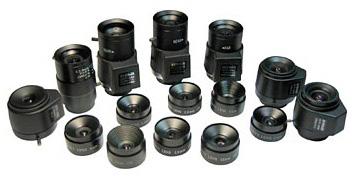 Объективы видеокамер для видеонаблюдения