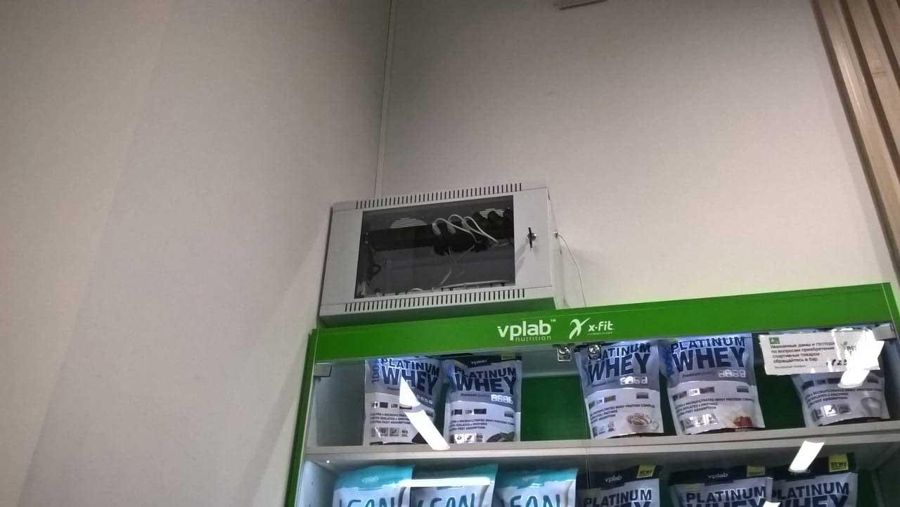 Подключение телевидения в тренажерном зале