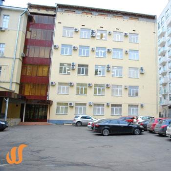 Установка турникетов в бизнес-центре по адресу Покровский бульвар д.3 стр.7