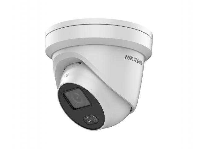 4 Мп купольная IP-камера с фиксированным объективом и подсветкой белым светом до 30 м HIKVISION DS-2CD2347G1-LU