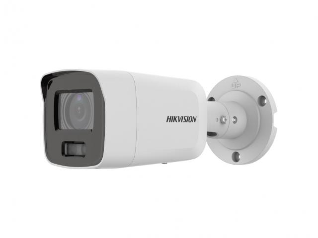 Компания Hikvision выпустила первую сетевую камеру ColorVu с ультравысоким разрешением 4К. Модель DS-2CD2087G2-LU обладает высокой светочувствительностью